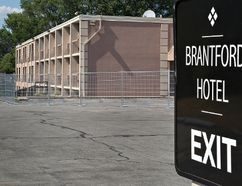 The Brantford Hotel, located at 666 Colborne Street, is being rebranded as a Four Points Sheraton and has been given a building permit for interior demolition. Brian Thompson/Brantford Expositor