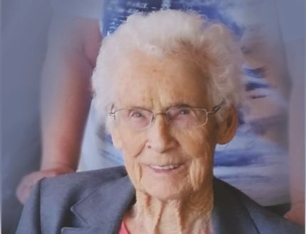 Irma Chittick turns 100 this month. The Chitticks invites family and friends to join her at a come and go tea, downstairs at the Selkirk Legion July 24 from 2 to 4 p.m. (Submitted photo)