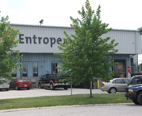Entropex, located on Lougar Street in Sarnia. (File photo)