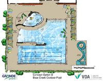 Option B was chosen by council for the Bear Creek Pool project. (City of Grande Prairie Submitted Photo)