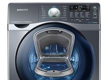 The Samsung AddWash has an extra door that allows you to add any forgotten laundry while the machine runs.