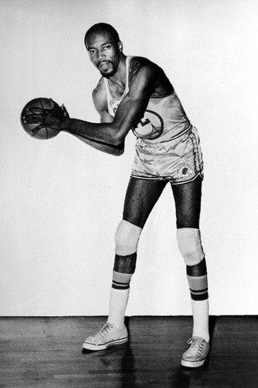 Nate Thurmond #42 of the San Francisco Warriors poses for portraits at San Francisco, Calif. (Photo by NBA PHOTOS/NBAE/Getty Images)