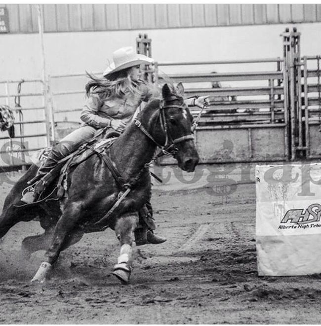Kendra Madson, 17, will be competing in the National High School Rodeo finals in Wyoming.