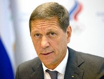 President of Russia's Olympic Committee Alexander Zhukov