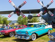 Intelligencer file photo Vintage cars and historic planes shared the grounds at National Air Force Museum grounds for the Wings and Wheels Classic Car Show last year. The event returns to the site this weekend.