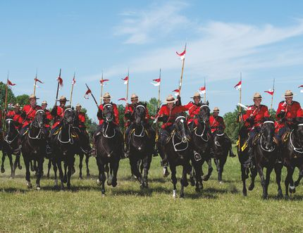 The RCMP Musical Ride will perform two shows July 26 at the PCU Centre in Portage la Prairie. (Submitted photo)