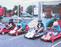 Photo supplied Youths between the ages of five and 11 years can take part in this weekend's soapbox car derby on Lisbon Road.