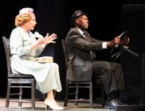 Michael Learned and Neville Edwards as Miss Daisy and Hoke at the Victoria Playhouse until July 24.