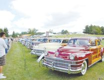 Woodie wagons are popular attractions at a previous Concours d'Elegance. (JIM FOX, Special to Postmedia News)