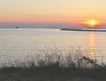 The Goderich waterfront is a beautiful spot to relax and take in Lake Huron. (Mark Wessel photo)