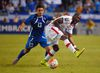 El Salvador's Alexander Larin (left) and Canada's Tosaint Ricketts vie for the ball. Ricketts will see his first action with TFC against D.C. United this weekend. (AP)