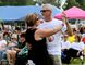 Alice and Steve Uher dance in front of the 800 people attending last year's Shrewsbury Ribs n Blues Festival. (File Photo/The Daily News)