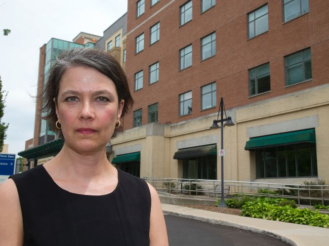 Maia Bent, a lawyer at Lerner's law firm in London, is representing the family of a 77-year-old woman suing St. Joseph's Health Care in London. Mike Hensen/The London Free Press/Postmedia Network