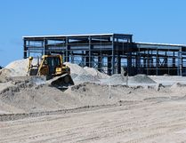 The steel is up for the newest and most expensive building project in Timmins this year. The Bucket Shop has invested more than $10-million for a new 65,000-square-foot manufacturing plant on McBride Street in Timmins, in the industrial park in the city's west end.