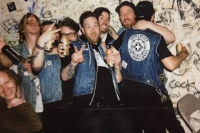 Supplied photo  Toronto-based Sam Coffey and the Iron Lungs.