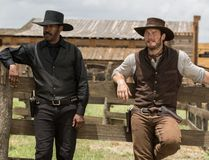 """Denzel Washington and Chris Pratt in """"The Magnificant Seven."""""""