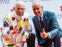 Don Cherry and Ron MacLean