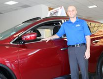 Charlie Pinkerton/Special to The Sault Star Greg Lefave at Superior Nissan on Pim Street. On July 11 Lefave was named to Automotive News' 40 Under 40 list recognizing young talent in the auto retailing industry.