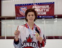 Local resident Carter Buehlow has had a busy summer. He recently returned from playing inline hockey at the AAU Junior Olympics in Hawaii and this week is in Fort Wayne, IN representing Team Ontario at the US National State Wars Championships.
