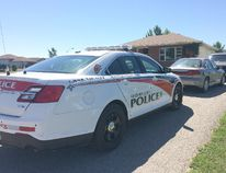 Officers with the Anishinabeck Police Services, and the OPP, conducted searches Tuesday at two homes at Kettle and Stony Point First Nation, as part of a drug investigation. Police made six arrests and allege that drugs with a street value of nearly $33,000 were found. (Handout)