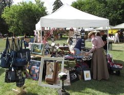 The Fresh Air Market at Historic Dunvegan runs July 31. Supplied