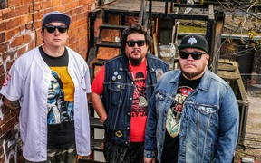 Indigenous electronic music group A Tribe Called Red performs Saturday at Northern Lights Festival. (Supplied photo)