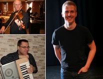 Stone Fence Theatre is planning an exciting concert of traditional old-time French Canadian music on Aug. 4 at the Eganville Community Centre.Among those taking the stage for the show (clockwise from bottom left) are Germain Leduc, Yvon Cuillerier and Jonathan C. Rousseau.