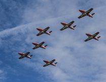 The Snowbirds were one of the headline acts at the Wetaskiwin Air Show July 20.