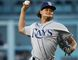 Tampa Bay Rays starting pitcher Chris Archer throws against the Los Angeles Dodgers during the first inning of a game in L.A. on July 26, 2016. (AP Photo/Jae C. Hong)