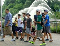 Hundreds of Pokemon Go players gathered for a special community Pokemon event in Ivey Park on Thursday. The event was hosted by Forest City Comicon. (MORRIS LAMONT, The London Free Press)