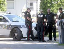 Winnipeg police are investigating a homicide at an address on Bannerman Ave.