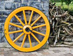 In this week's Delfi column, Larry Schruder explains how the rim of the wagon wheel is the visible representation of how strong the team member relationships are.