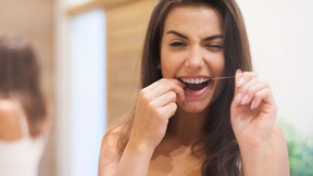 HOLMDEL, N.J. -- It's one of the most universal recommendations in all of public health: Floss daily to prevent gum disease and cavities. (Getty)