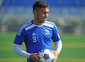 Former FC Edmonton forward Sadi Jalali and his brother face drugs and weapons charges.