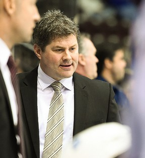 Former Belleville Bulls player, assistant coach and head coach — James Boyd — is among the presenters at the first-ever FL Hockey coaching symposium this weekend in Belleville. (OHL Images)