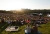 Crowd listens as The Barr Brothers perform on the main stage during the Edmonton Folk Music Festival at Gallagher Park in Edmonton, Alberta on Thursday, August 4, 2016. Ian Kucerak / Postmedia