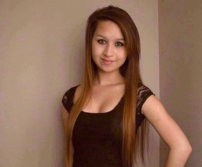 Amanda Todd is shown in an undated handout photo. THE CANADIAN PRESS/Facebook, HO