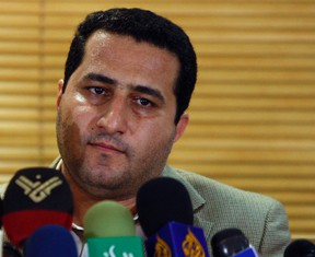 In this July 15, 2010 file photo, Shahram Amiri, an Iranian nuclear scientist, attends a news as he arrives at the Imam Khomeini airport just outside Tehran, Iran, after returning from the United States. Iran executed the nuclear scientist convicted of spying for the United States, an official said Sunday, Aug. 7, 2016, acknowledging for the first time that the nation secretly detained and tried the man who was once heralded as a hero. (AP Photo/Vahid Salemi, File)