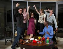 3. In-room revellers - 59%. (Getty Images)