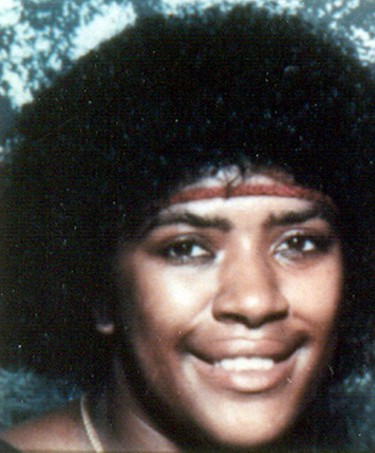 Bernita Sparks - April 15, 1987 The body of Bernita Sparks, 26, was also found in an alley trash bin, after she was shot to death with a small-calibre gun, strangled and hit with a heavy object. (Los Angeles County District Attorney via AP)