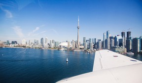 Announcement Tuesday of air service between Niagara and Toronto by Greater Toronto Airways.Tuesday August 9, 2016.  Starting Sept. 15 daily flights from the Niagara District Airport and Billy Bishop Toronto City Airport.   Bob Tymczyszyn/St. Catharines Standard/Postmedia Network