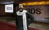 An Egyptian man shouts anti-Israeli slogans in front of banners with the Boycott, Divestment and Sanctions (BDS) logo during the launch of the Egyptian campaign that urges boycott, divestment and sanctions against Israel and Israeli-made goods, at the Egyptian Journalists' Syndicate in Cairo, Egypt. (AP Photo/Amr Nabil, File)