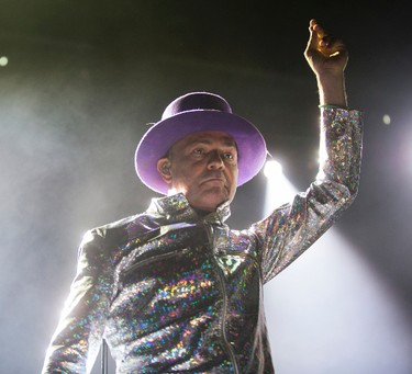 Gord Downie of the Tragically Hip performs at the Air Canada Centre in Toronto, Ont. on Wednesday August 10, 2016. Ernest Doroszuk/Toronto Sun/Postmedia Network