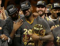 LeBron re-signs