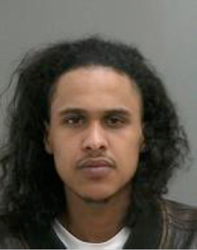 Mustafa Ahmed, 28, is wanted for second-degree murder in the weekend's shooting
