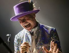 Gord Downie, The Tragically Hip frontman.