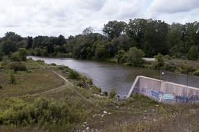 The Thames River running through Woodstock. (Sentinel-Review file photo)