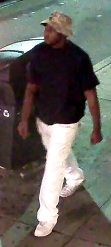 Investigators need help identifying five men who are suspected of a violent street robbery in the city's Entertainment District on Aug. 11. IMAGES SUPPLIED BY TORONTO POLICE