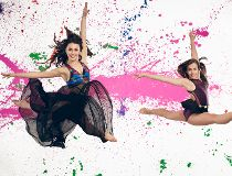 Kathryn McCormick and Tate McRae