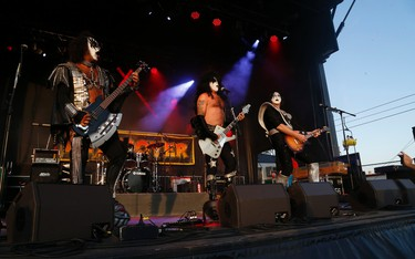 KissDetroyerCanada play the Midway concert park at the Opening Day at the 138th edition of the CNE on Friday August 19, 2016. Jack Boland/Toronto Sun/Postmedia Network